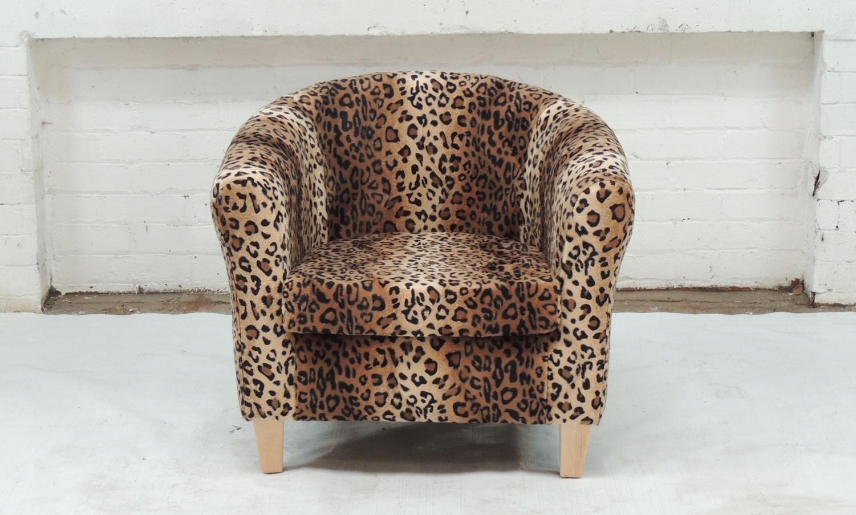 leopard print recliner chair edinburgh upholsterer